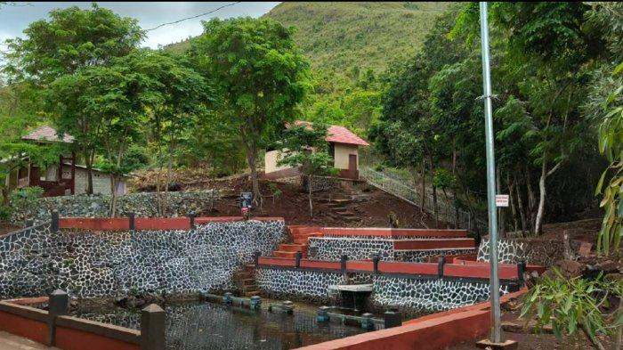 KalselPedia - Kolam Pemandian Tahura Sultan Adam Mandiangin Kabupaten Banjar