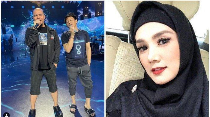 Pamor Ahmad Dhani dan Ariel NOAH Kala Satu Panggung Dibandingkan, Mulan Jameela Beri Reaksi