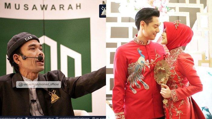 Permintaan Roger Danuarta pada Ustadz Abdul Somad Terungkap, UAS Nasihati Suami Cut Meyriska