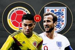 Head to Head & Prediksi Skor Kolombia vs Inggris 16 Besar Piala Dunia 2018 Live TransTV, Kane Main