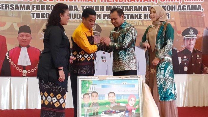 Wali Kota Banjarmasin Ibnu Sina Bilang Begini di Acara Pamit Kenal Kapolresta
