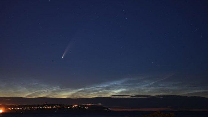 FAKTA-fakta Komet Neowise, Hanya Bisa Dilihat Sekali Seumur Hidup, Ekornya Terbelah?