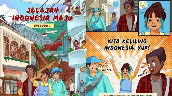 Presiden Jokowi Promosikan Komik Jelajah Indonesia Maju, Angkat Wisata dan Kemajuan Indonesia