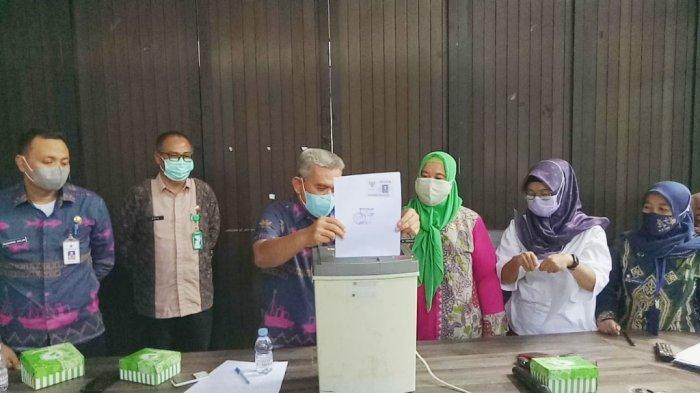 BKD Tanbu Musnahkan 4.115 Arsip Inaktif 2015