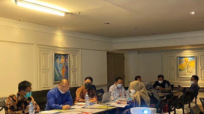 Komisi II DPRD Prov Kalsel Kunjungi Bank Kalsel Kantor Cabang Jakarta