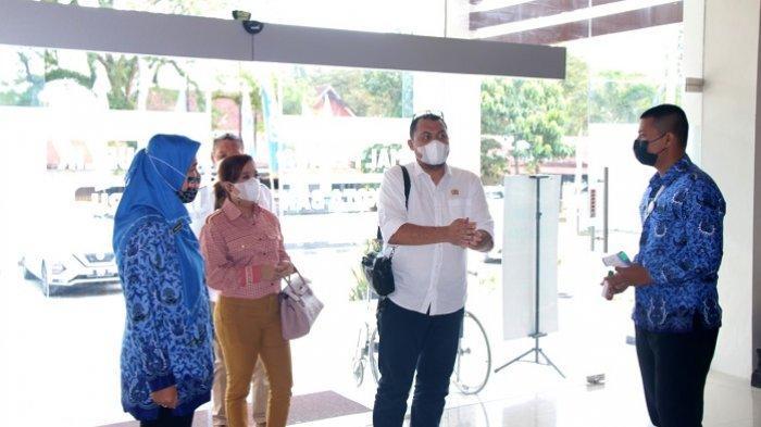 Komisi III DPRD Banjarbaru berkunjung ke MPP Banjarbaru, Kamis (18/2/2021).