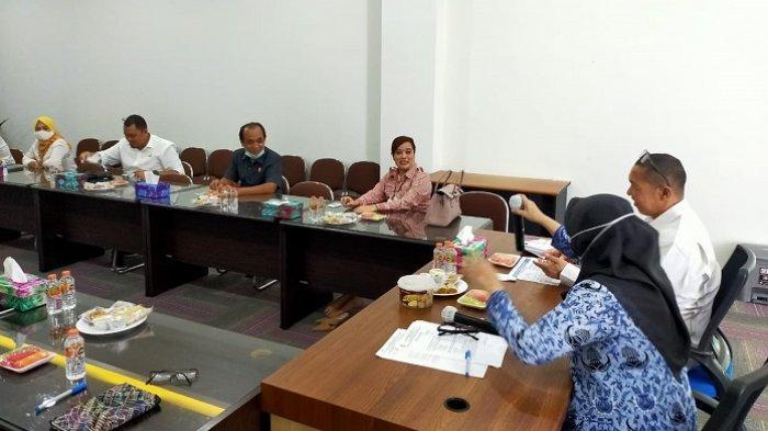 Komisi III DPRD Banjarbaru meninjau langsung MPP Banjarbaru, Kamis (18/2/2021).