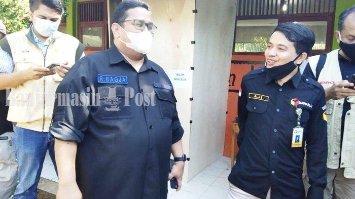 Dua TPS di Binuang Tapin Terlambat Memulai Pelaksanaan PSU Pilgub Kalsel 2020