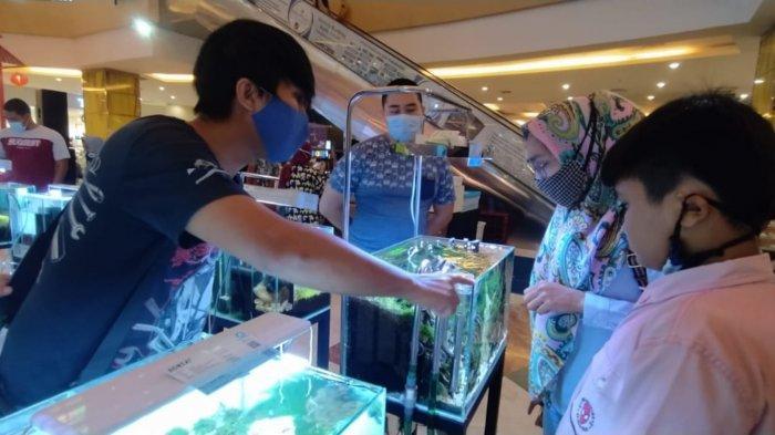 Perkenalkan dan Edukasi Aquascape, Komunitas Aquascaper Banjarbaru Gelar Expo