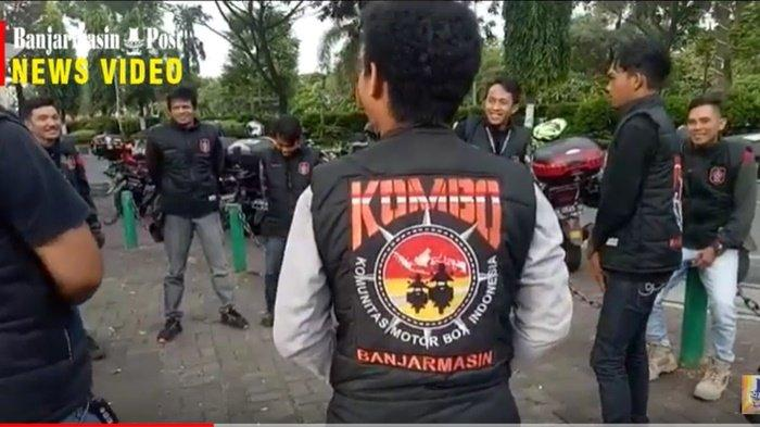 Kalsepedia: Anggota Komunitas Motor Box Indonesia Agendakan Bersihkan Tugu 17 Mei