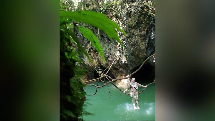 Kondisi Gua Limbuhang,di Desa Haliau, Kecamatan Batubenawa, Kabupaten Hulu Sungai Tengah Rabu (31/3/2021).
