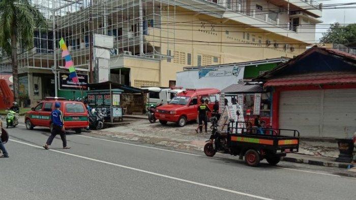 Kondisi Jalan Raya di Kotabaru Setelah Banjir, Hari Ini Berangsur-angsur Mengering
