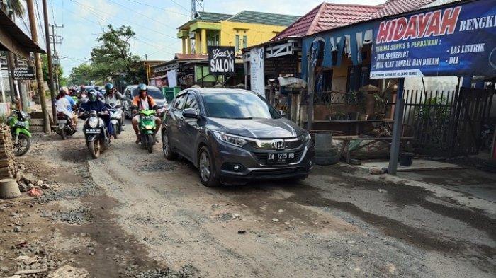 Jalan Tembus Perumnas Banjarmasin Rusak, Ini Penjelasan Dinas PUPR
