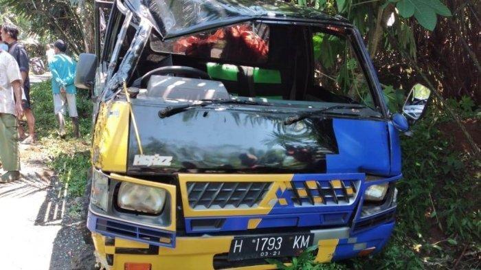 Pulang Melayat, 40 Warga Dusun Jlubeng Kecelakaan, Pick Up  Terbalik di Wonosobo, 1 Orang Meninggal