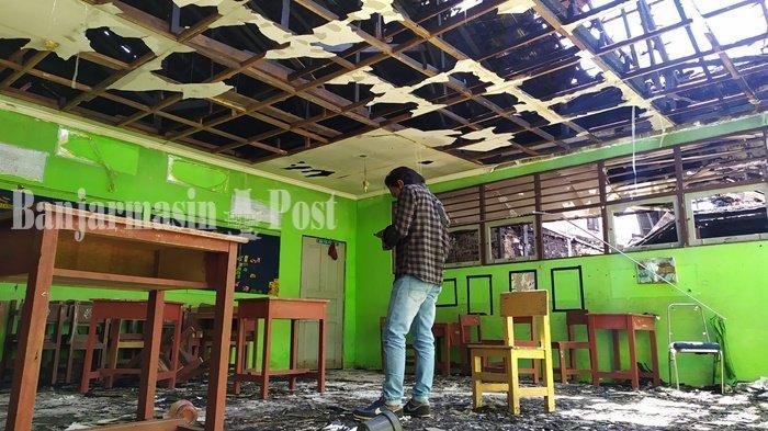 Rencanakan Perbaikan di SDN Kebun Bunga 9 Banjarmasin, Disdik Anggarkan Dana Ratusan Juta Rupiah