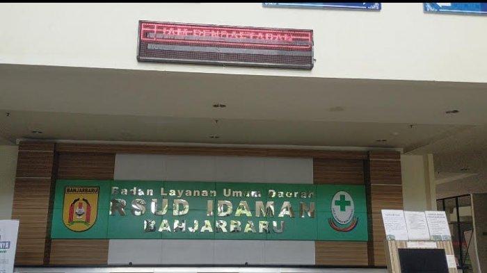 Malam Hari, RSD Idaman Banjarbaru Dikeluhkan Gelap Gulita