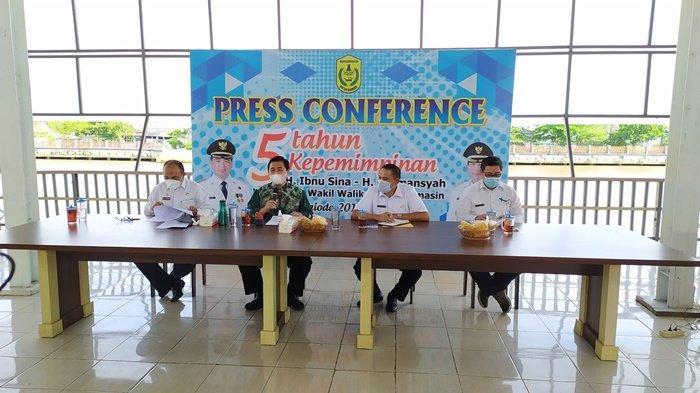 Jabatan Wali dan Wakil Wali Kota Banjarmasin Berakhir, Ibnu-Herman Klaim Ini