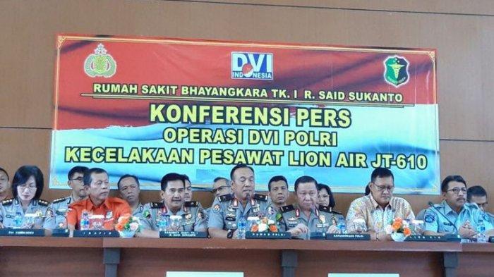 Tragedi Pesawat Lion Air JT 610, 64 dari 189 Korban Tak Teridentifikasi