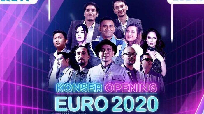 Link Nonton Streaming TV Online RCTI Opening Ceremony Euro 2021 Jam 23.00 WIB Lanjut Turki vs Italia