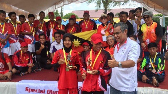 Tim Futsal Serawak Malaysia Rebut Tropi Putra, Kalsel Dapat Dua Gelar Futsal Antara Negara