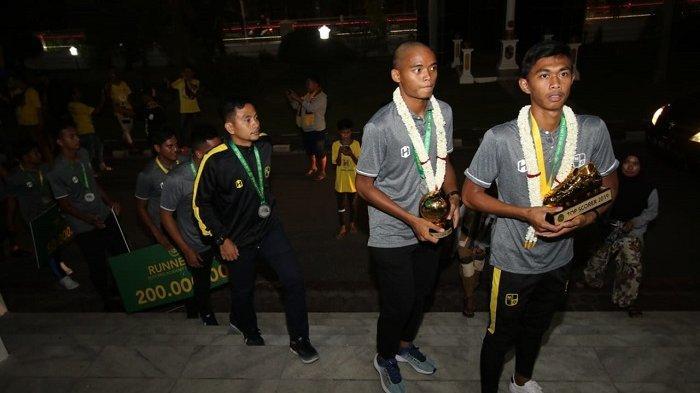 Khalikin Noor Berharap Keberhasilan Barito putera U-20 Bisa Menular ke Barito Putera U-18.