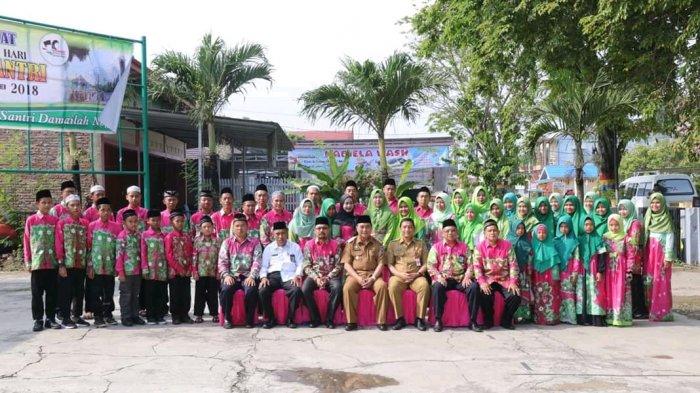 Bupati HSS Lepas Kontingen Pentas PAI HSS Ke Tingkat Provinsi Kalsel