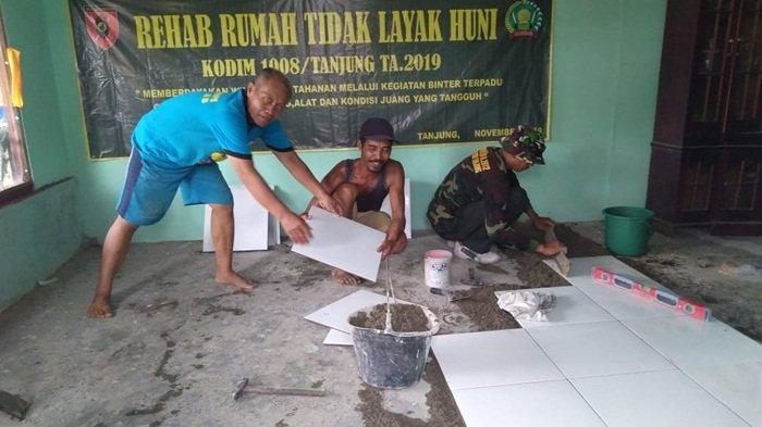 Korami Haruai Bantu Perbaiki Rumah Tak Layak Huni