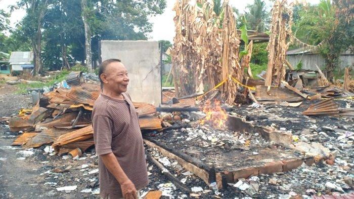 Korban Kebakaran di Desa Tarjun Kelumpang Hilir Kotabaru Ini Menantikan Adanya Bantuan Pakaian