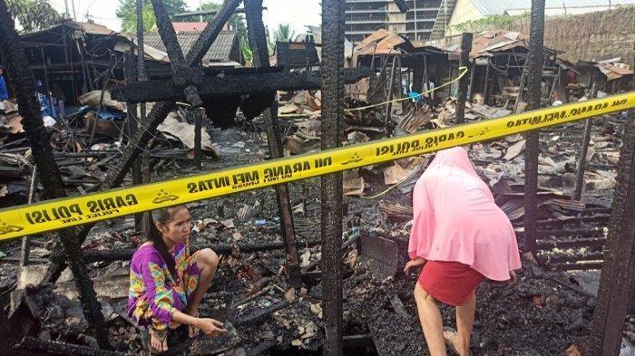 Kebakaran Kalsel di Kelurahan Pelambuan Banjarmasin, 79 Jiwa Terdampak