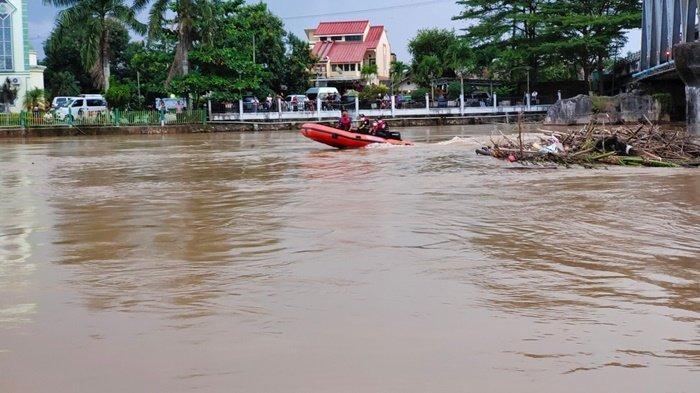 Seorang Santri Tenggelam di Sungai Martapura Kabupaten Banjar