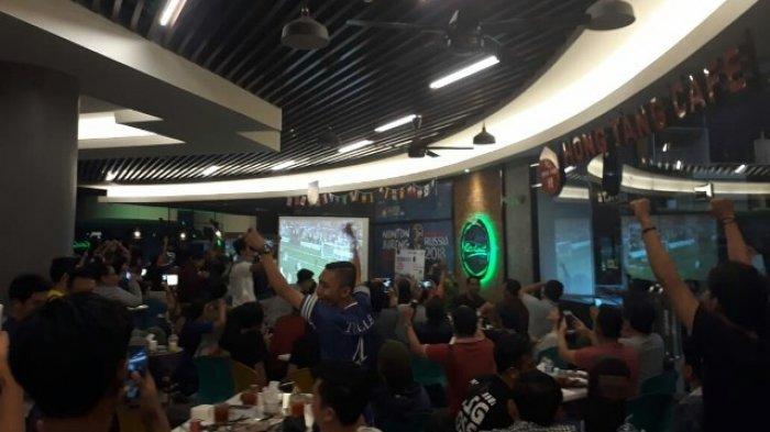 Prancis Juara Piala Dunia 2018! Nonbar Prancis vs Kroasia di Kordinat Cafe Banjarmasin