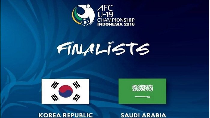 Live Streaming Korea Selatan vs Arab Saudi via Live Streaming Fox Sports Final Piala AFC U-19 2018