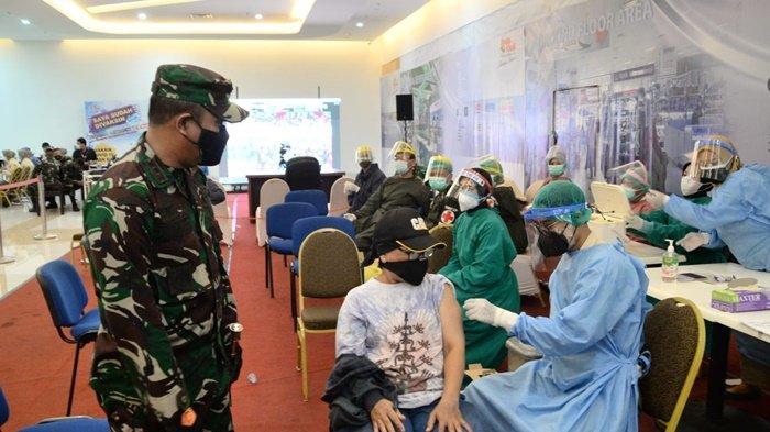 Korem 101/Antasari Kembali Gelar Serbuan Vaksinasi di Duta Mall Banjarmasin