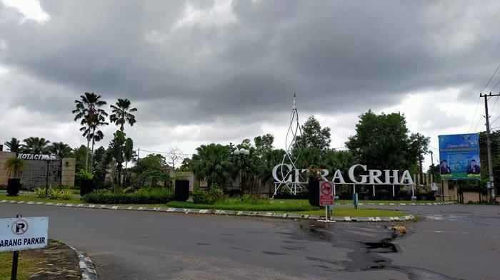 Asyiknya Menikmati Lingkungan Asri Kota Citra Graha di Lianganggang Kota Banjarbaru