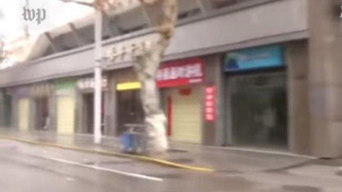 VIDEO Terbaru Wuhan, Seperti Kota Hantu karena Warga Enggan Keluar Rumah Takut Teror Virus Corona