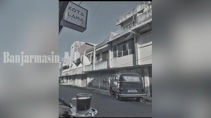Jalan-jalan ke Kotalama Koffie Banjarmasin, Tempat Ngopi dengan Konsep Jadul dan Retro