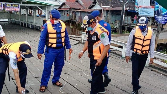 PSBB di Kabupaten Kapuas Mulai 4 Juni 2020, Dishub Kapuas Cek Kapal Feri Penyeberangan