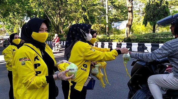 Peringati Hari Kartini 2021, KPPG Kalsel Bagikan Takjil dan Masker