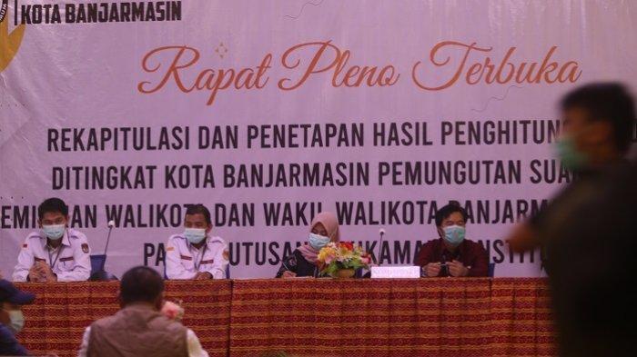 Hasil Akhir Pilkada Banjarmasin, Rapat Pleno KPU Nyatakan Petahana Menang