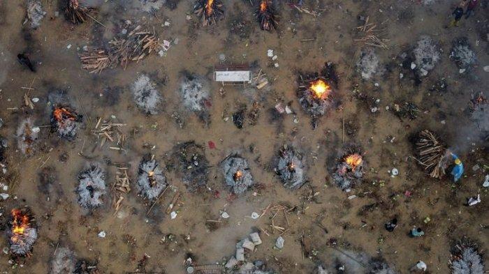 Tsunami Covid-19 di India : Total Kasus Mencapai 20 Juta Lebih
