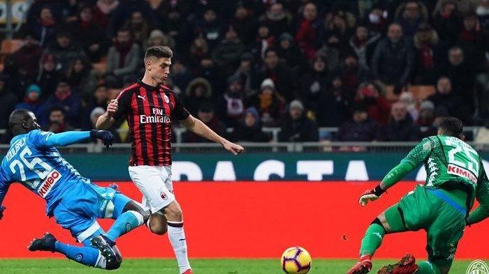 Hasil AC Milan Vs Napoli Liga Italia - Skor 0-0, Debut Krzysztof Piatek & Kehebatan Donnaruma