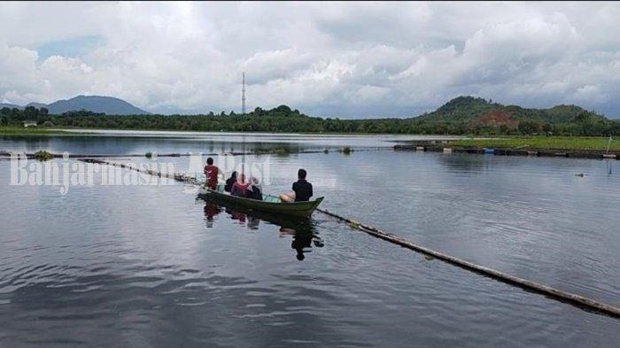 Kuliner Kalsel, Relaksasi bagi Pengunjung di Danau PTPN XIII Pelaihari Kabupaten Tala