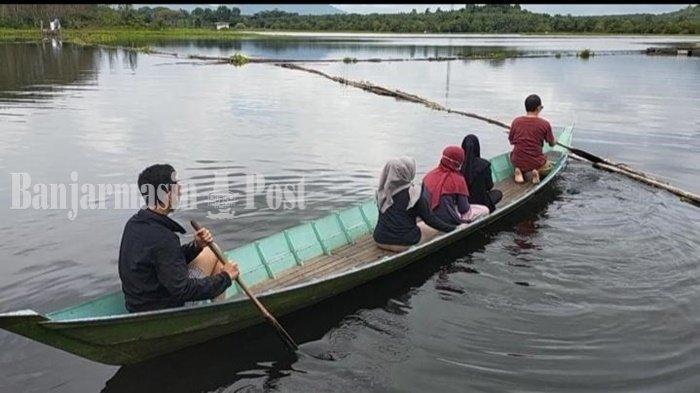 Kuliner Kalsel, Spot Selfie yang Indah di Sekitar Danau PTPN XIII Pelaihari