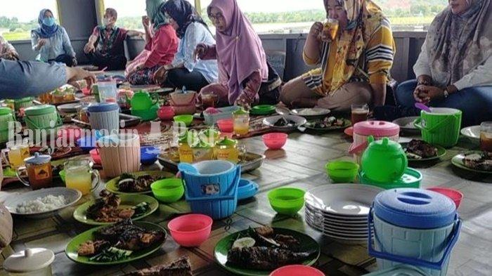 Kuliner Kalsel, Bersantap Sambil Menikmati Alam di Kawasan Danau PTPN Pelaihari