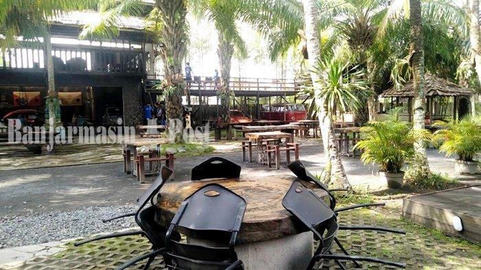 Kuliner Kalsel, Ngopi Asyik Suasana Klasik di Kopi Mbaroh Landasan Ulin Banjarbaru