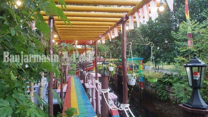 Kuliner Kalteng, Pengunjung Bisa Seru-seruan Swafoto di D'Silva Cafe & Resto Kapuas