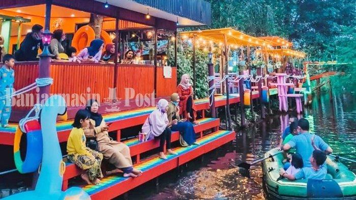 Kuliner Kalteng, Cara D'Silva Cafe & Resto di Kapuas Memanjakan Pengunjung