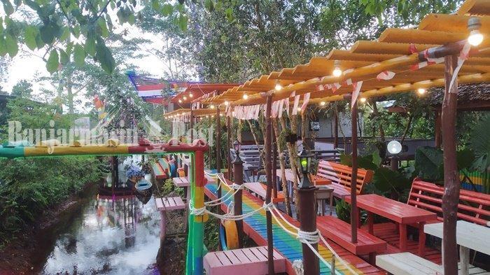 Kuliner Kalteng, D'Silva Cafe & Resto di Kapuas Tongkrongan Cocok untuk Semua Kalangan Usia