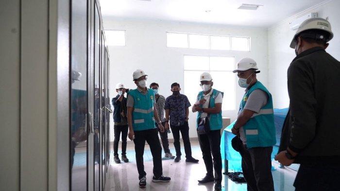 kunjungan Management PT PLN UIKL Kalimantan dan UPT KSKT di Gardu Induk