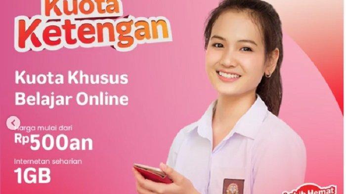 Paket Internet Murah Telkomsel, Kuota Ketengan Khusus Belajar Online Mulai Rp 500